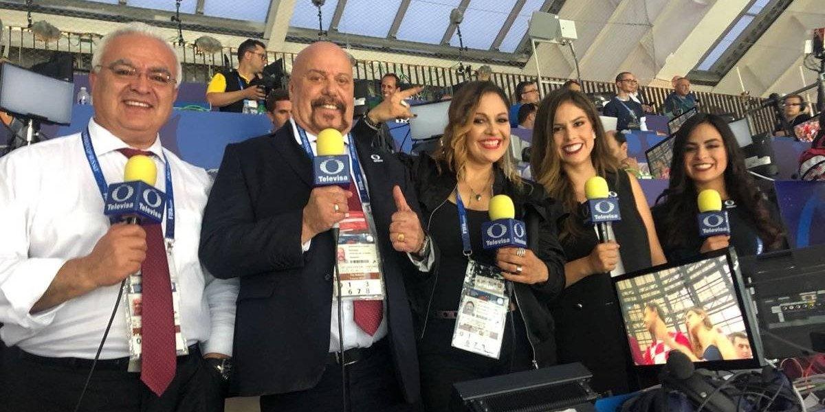 Televisa Deportes líder en la cobertura de Rusia 2018