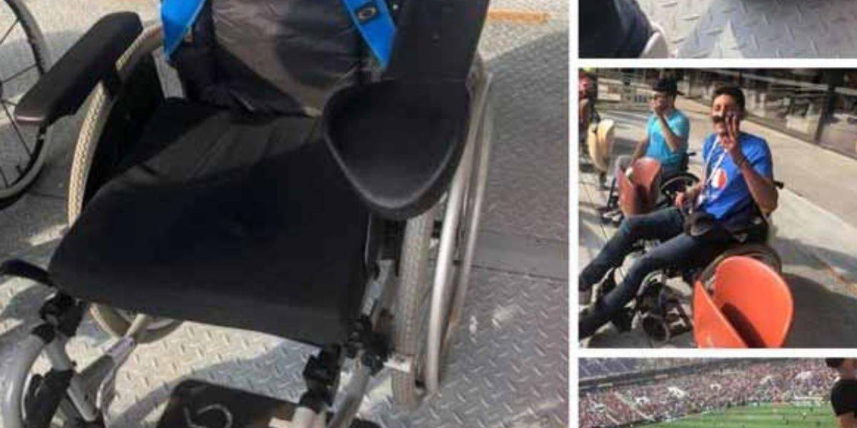 Mexicano finge discapacidad para entrar a la final del Mundial