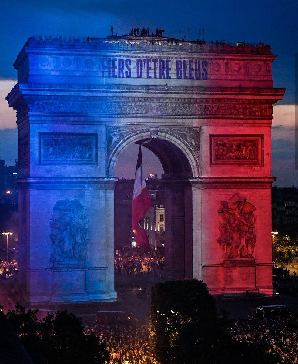 Festejos en Francia Getty images