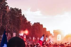 Festejos en Francia