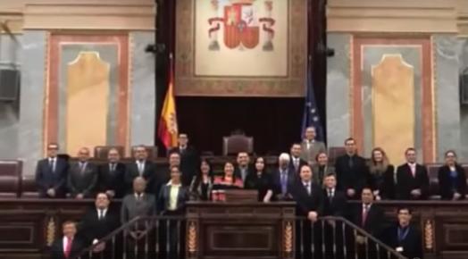 Funcionaria del Congreso fue sorprendida robando en Madrid, España