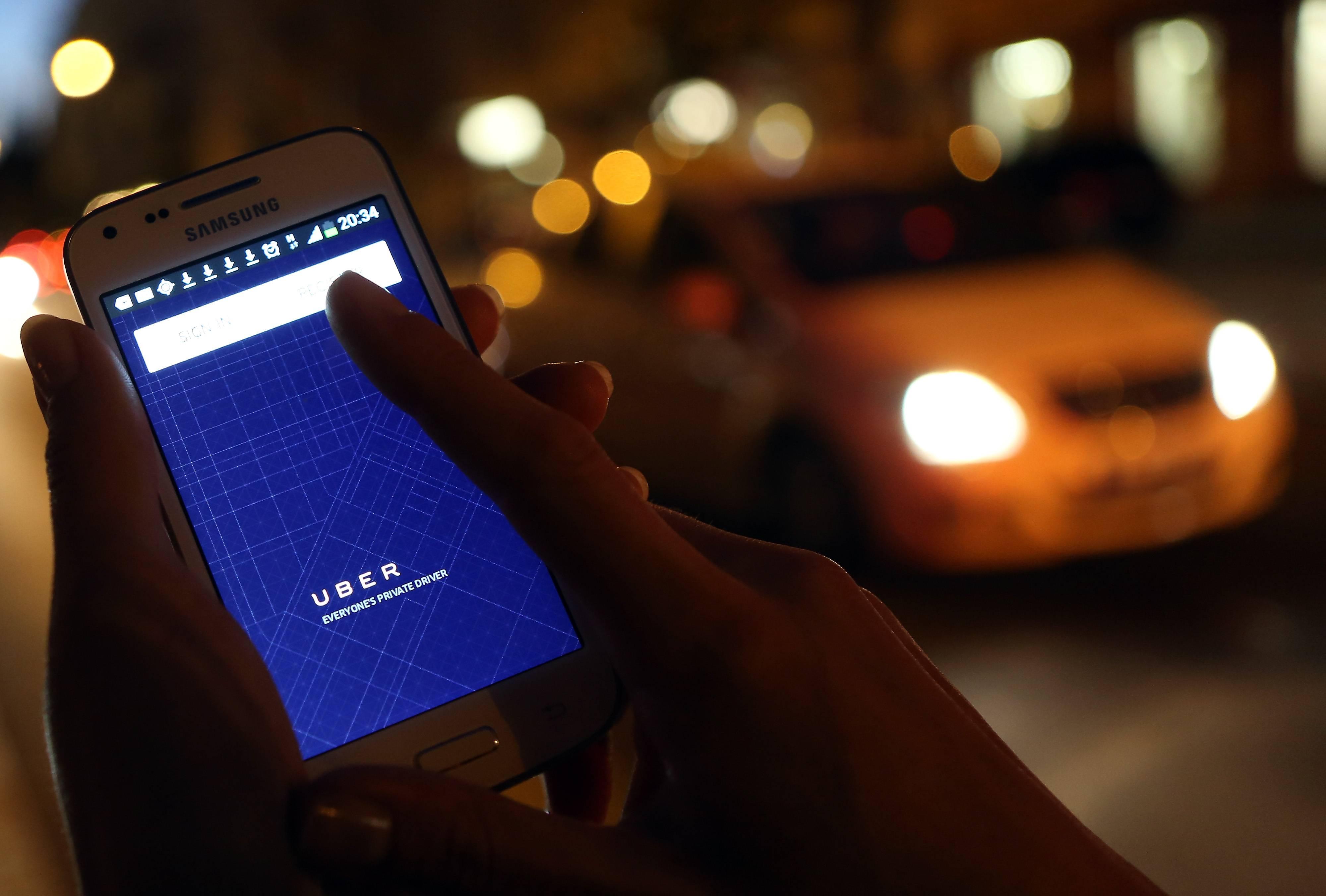 Riesgo de asalto en Uber