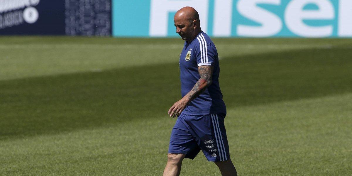 El tormentoso camino que vivió Jorge Sampaoli en la selección Argentina