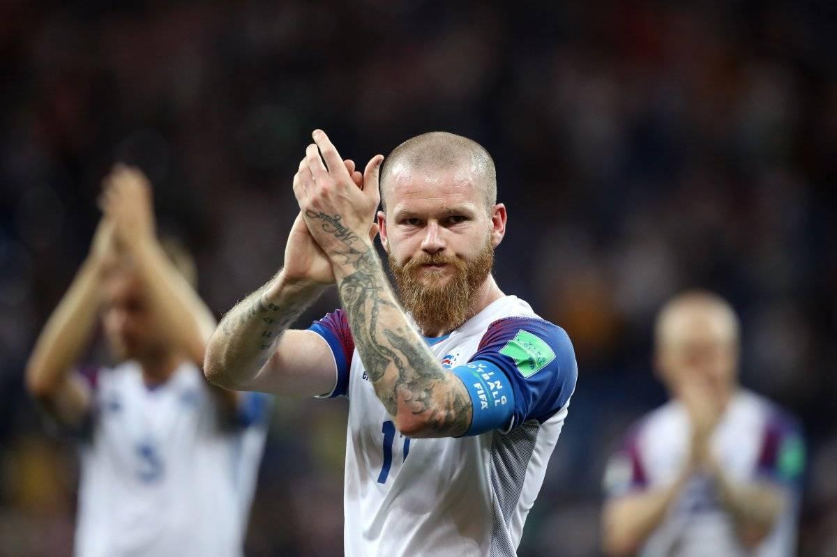 Islandia debutó en un Mundial / imagen: Getty Images