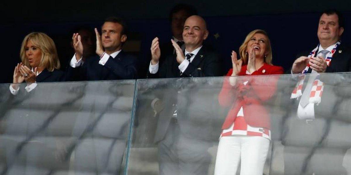 La presidenta de Croacia que cobró fama en el Mundial dejó ver al amor de su vida