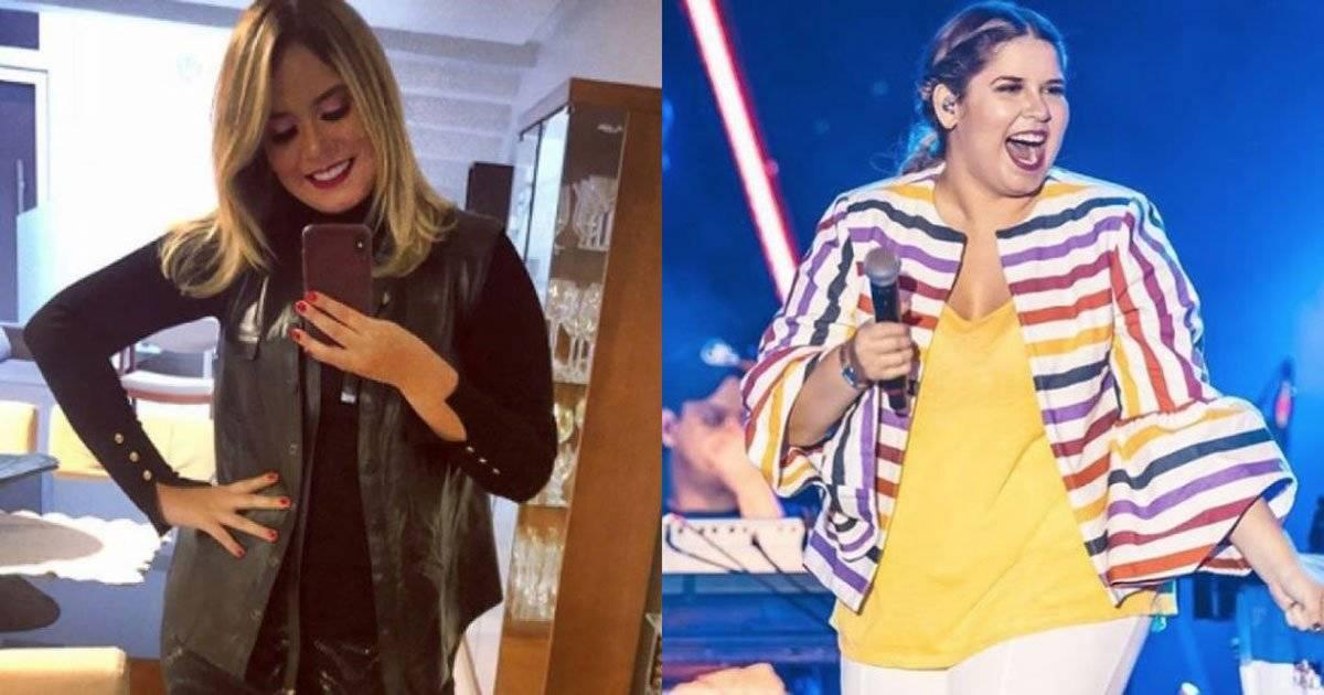Marilia Mendonça antes e depois