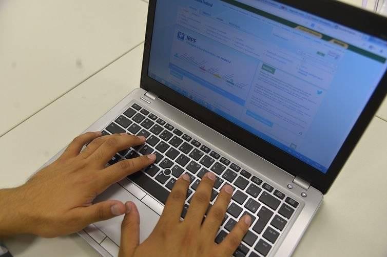 computador internet restituição imposto de renda