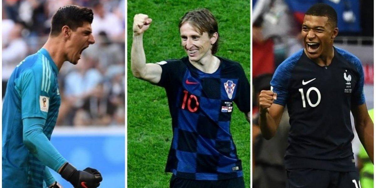 El once ideal del Mundial de Rusia