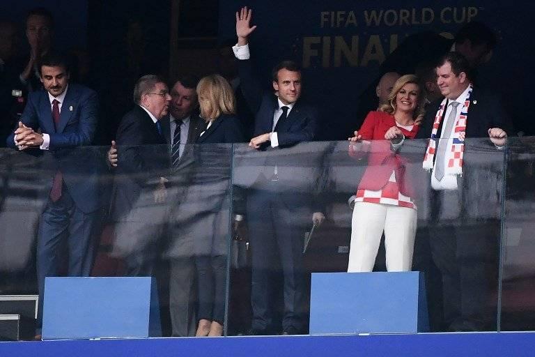 Grabar-Kitarović siempre lució emotiva durante la final