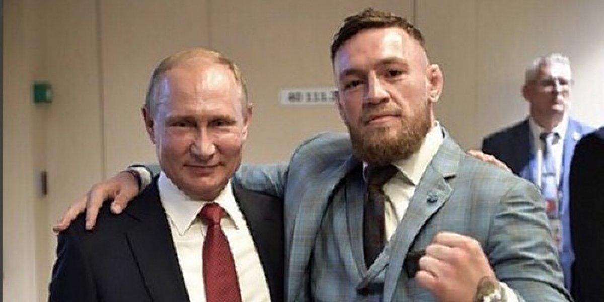 Conor McGregor recibe fuertes críticas por sus palabras dedicadas a Putin
