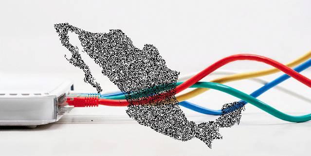 El internet de México