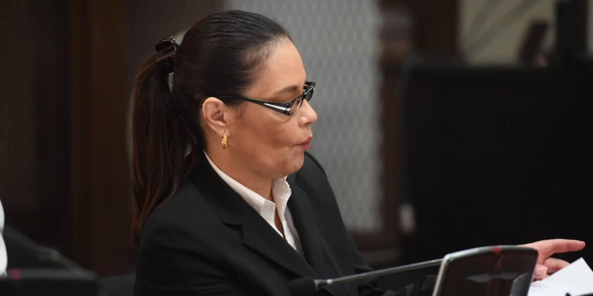 MP pide 22 años de cárcel para Baldetti en el juicio del caso lago de Amatitlán