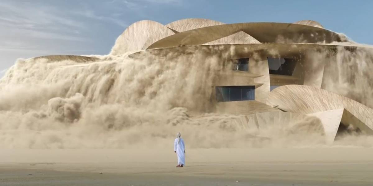 Copa do Mundo 2022: vídeo mostra estádios surgindo das areias do Catar; confira