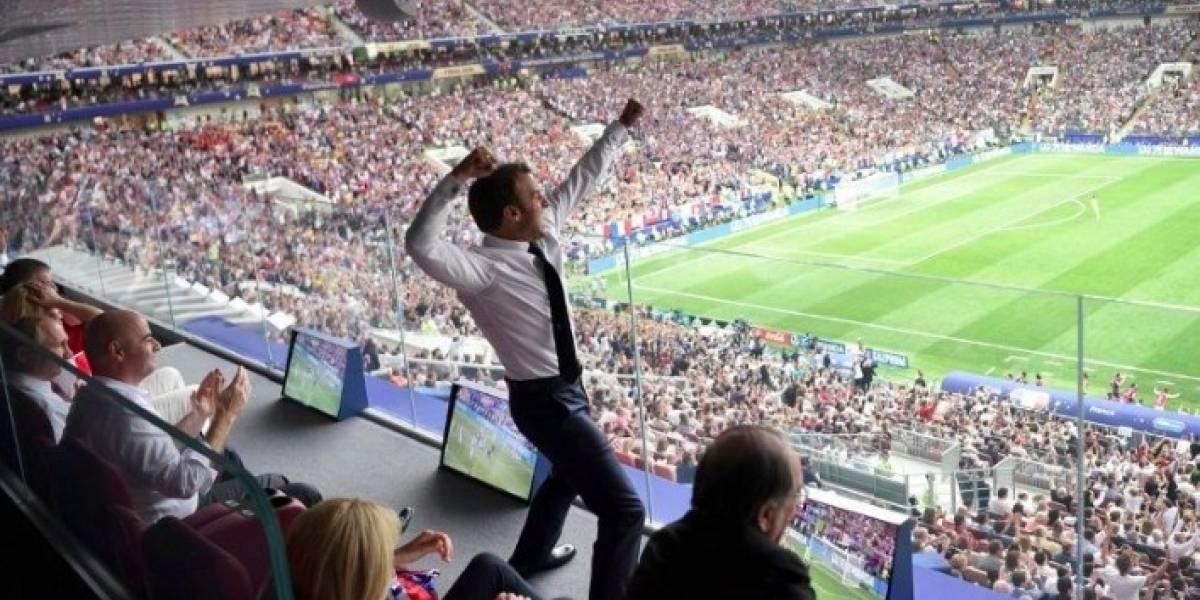 ¿Quién tomó la fotografía viral de Macron?