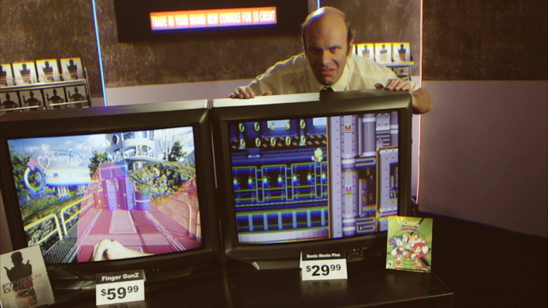 SEGA promociona el lanzamiento de Sonic Mania Plus con un divertido infomercial retro