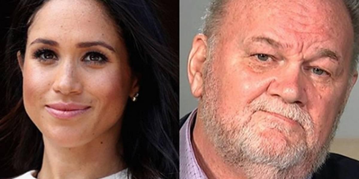 """Padre de Meghan arremete contra la familia real y asegura que su hija está """"aterrorizada"""""""