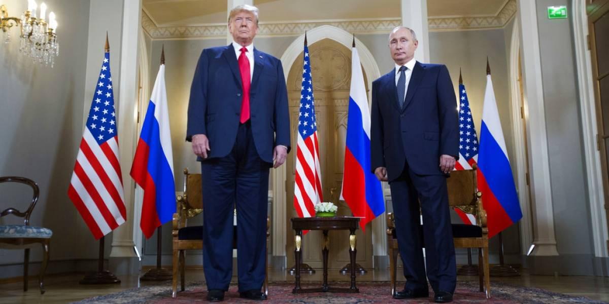 EN VIVO. Trump y Putin hablanenrueda de prensatras su histórica cumbre