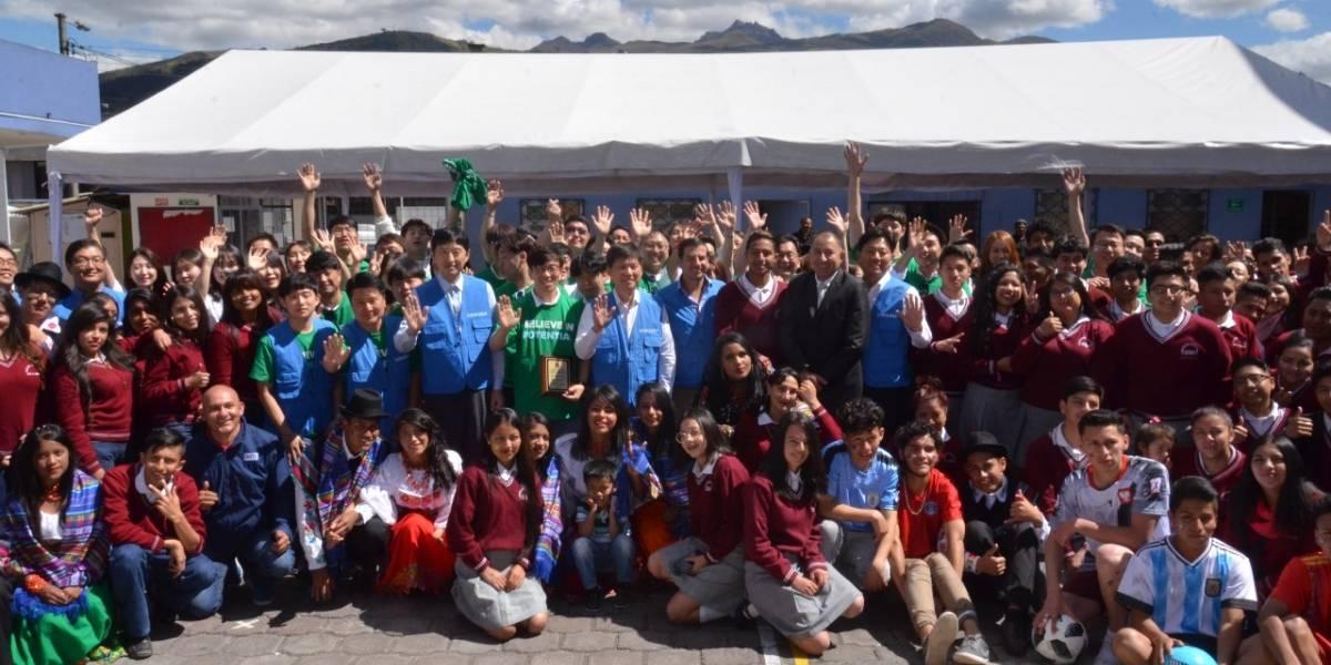 Programa Global de Voluntarios de Samsung se desarrolló en Ecuador