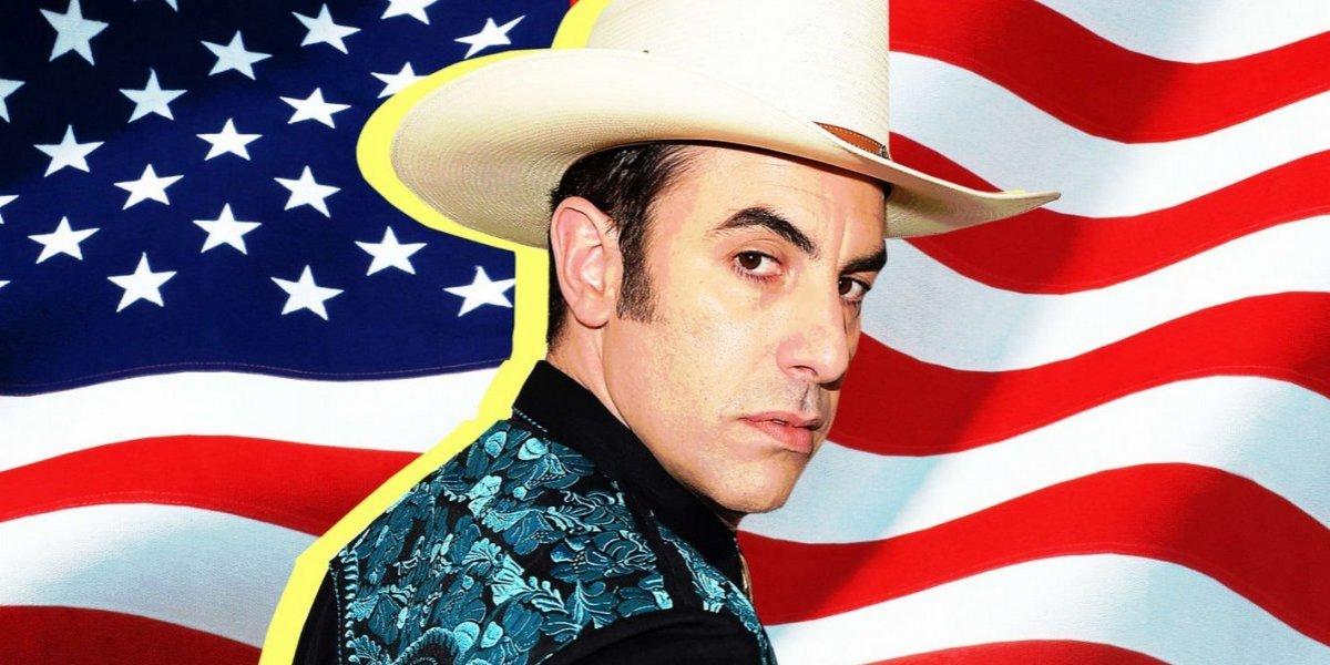 El comediante que interpreta a Borat regresa a la televisión con polémica sátira política