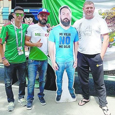 fans extranjeros