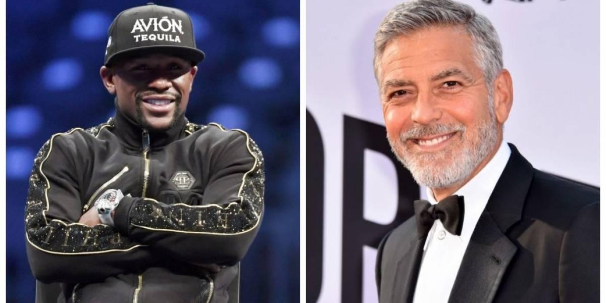 Boxeador Floyd Mayweather e George Clooney lideram lista de celebridades mais bem pagas do mundo