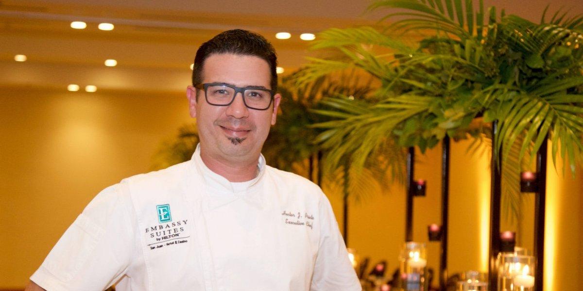 Nuevo chef del Embassy de S. J. potencia la sazón boricua