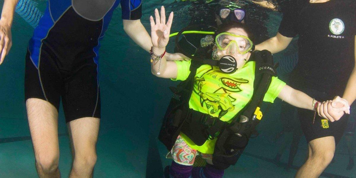 Sumergi2: porque bajo el agua no existe discapacidad