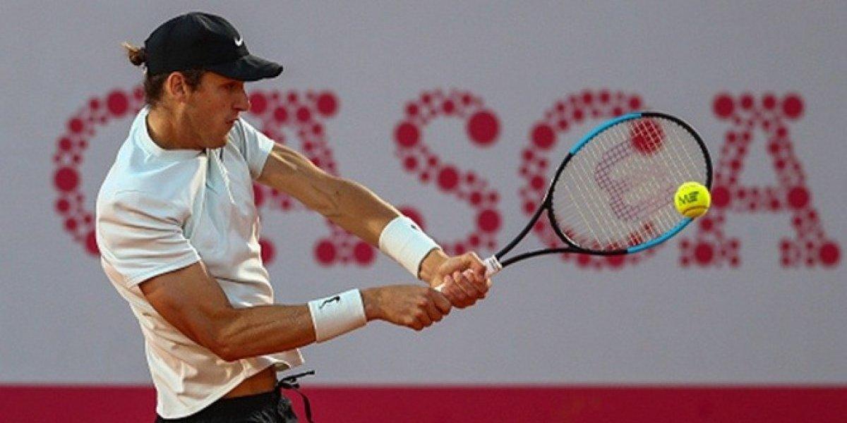 Nicolás Jarry sufrió su peor derrota del año, fue apabullado y dijo adiós al ATP de Umag
