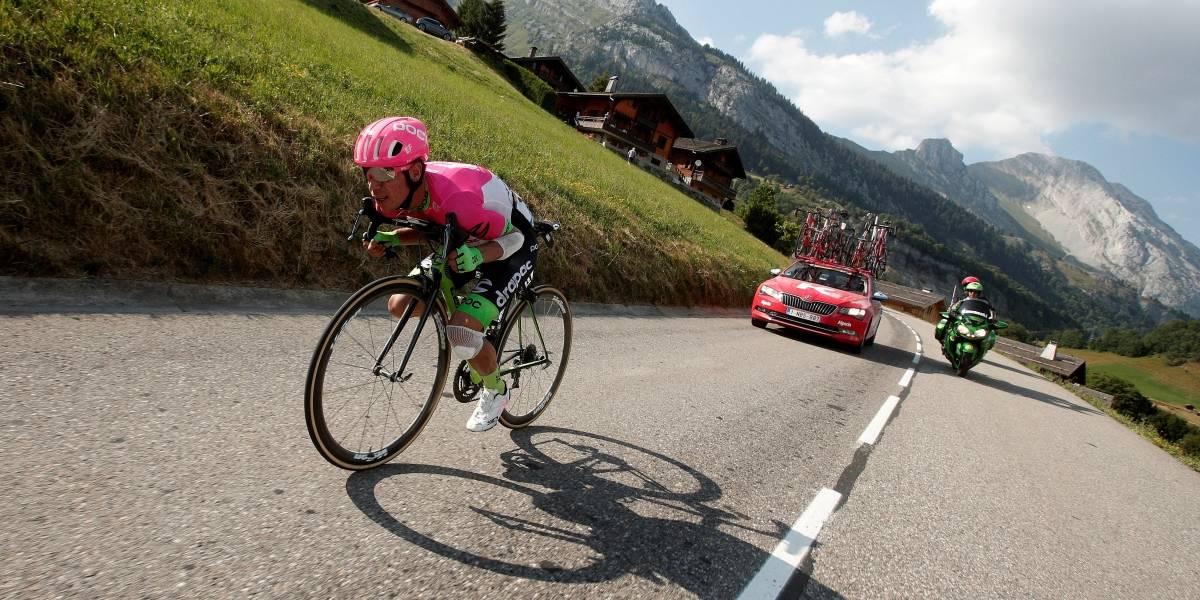 Nairo salvó la primera etapa de montaña del Tour con un Rigo en reversa