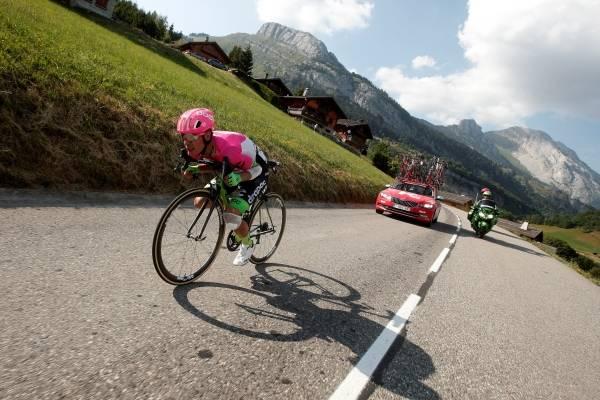 Rigoberto Urán en el Tour de Francia