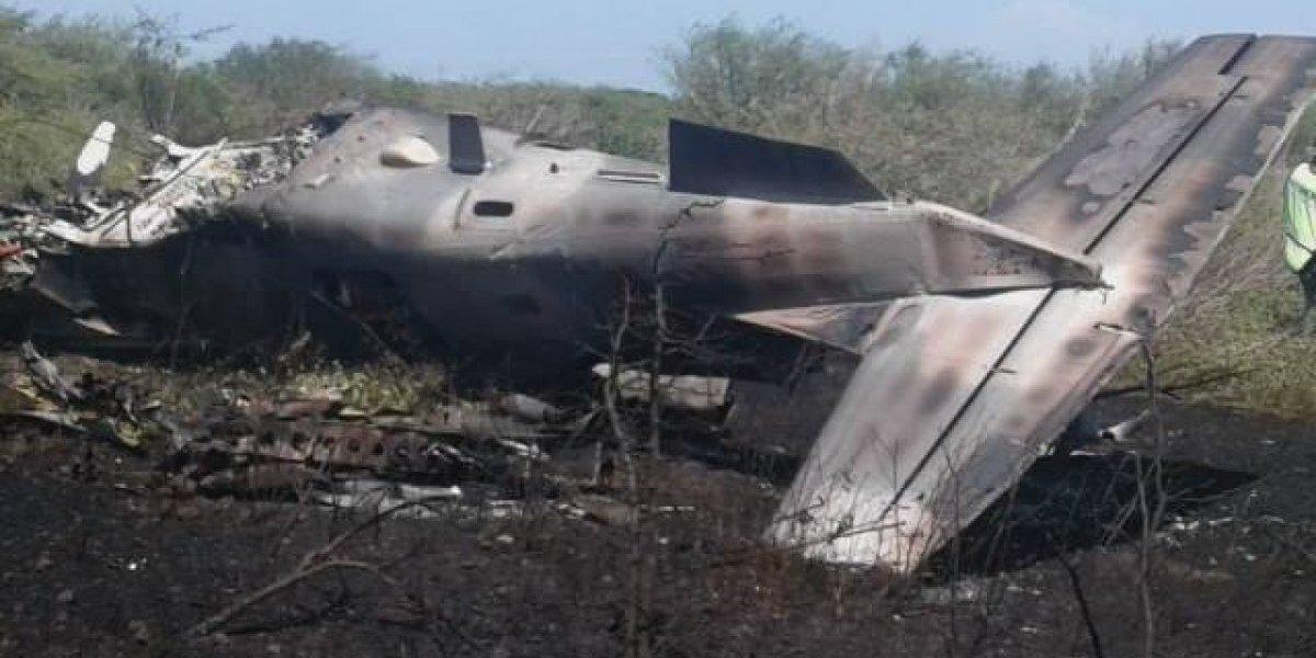 Avión de la Secretaría de la Defensa Nacional cae en Oaxaca