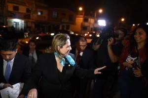 Denuncia canciller Sandra Jovel