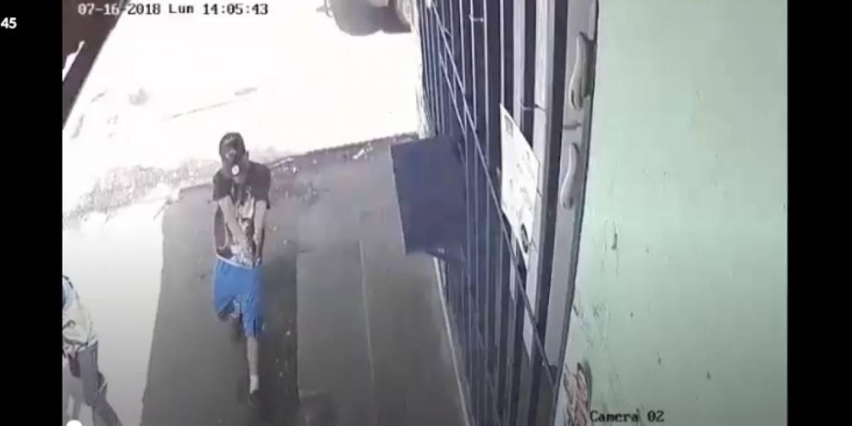 VIDEO. Cámaras de vigilancia captan momento exacto de ataque armado en Villa Nueva
