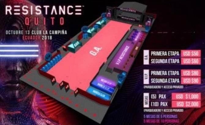 Ultra Music Festival-Resistance llega por primera vez a Ecuador