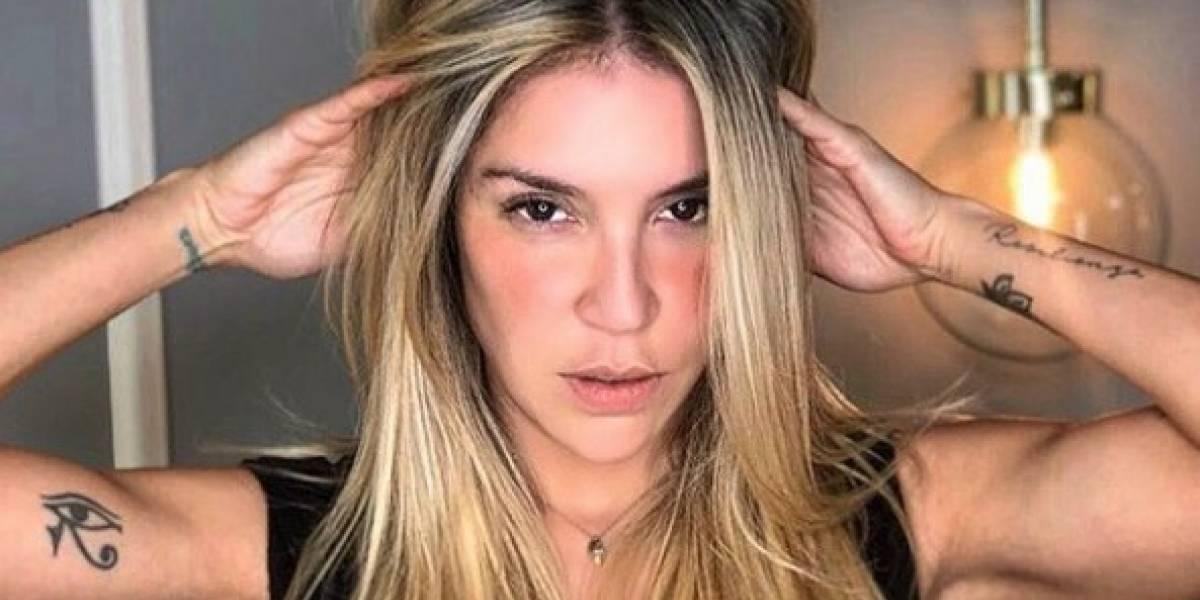 Valentina Lizcano se dejó ver en tras la delicada cirugía a la que se sometió