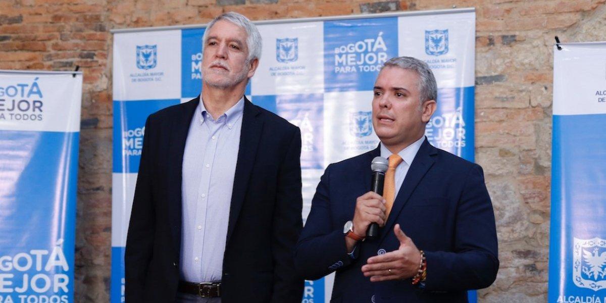 ¿De qué hablaron Duque y Peñalosa durante su primera reunión?