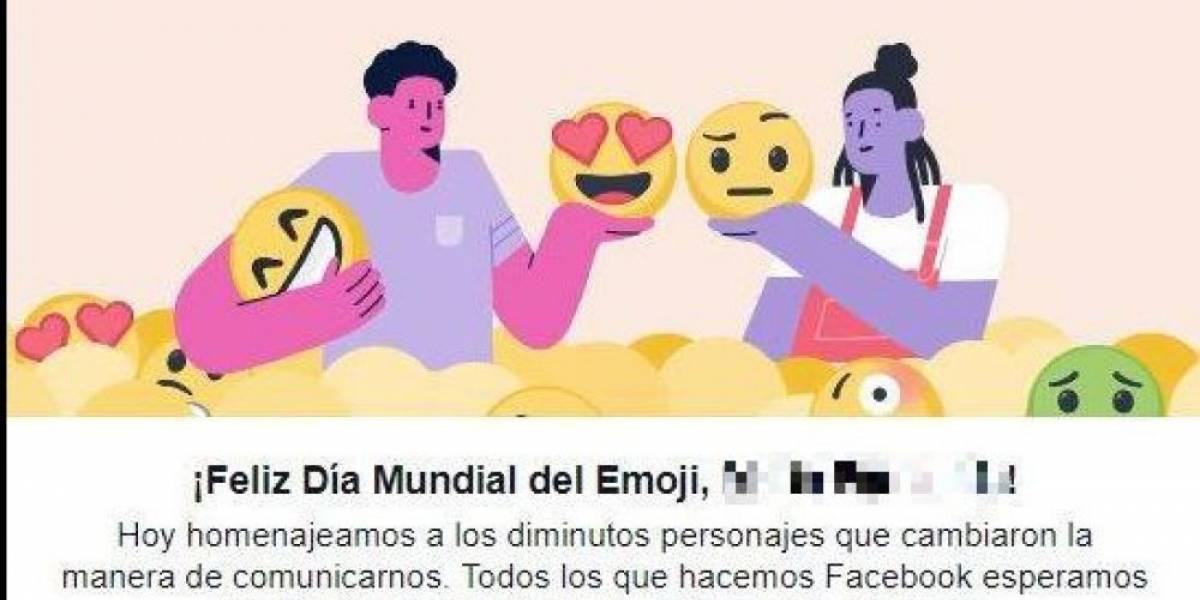 Facebook celebra con sus usuarios el Día Mundial del Emoji
