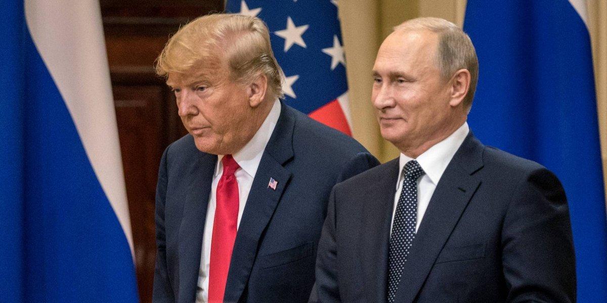 A pesar de las críticas, Trump y Putin vanaglorian su encuentro en Helsinki