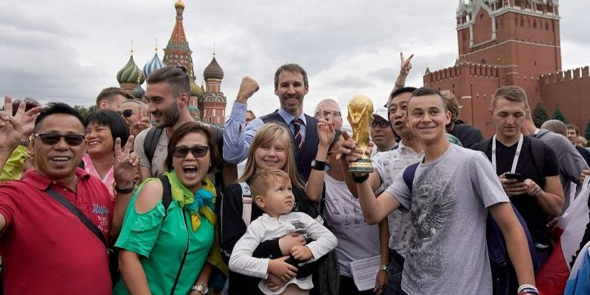 Íconos de la Copa del Mundo 2018 en Rusia