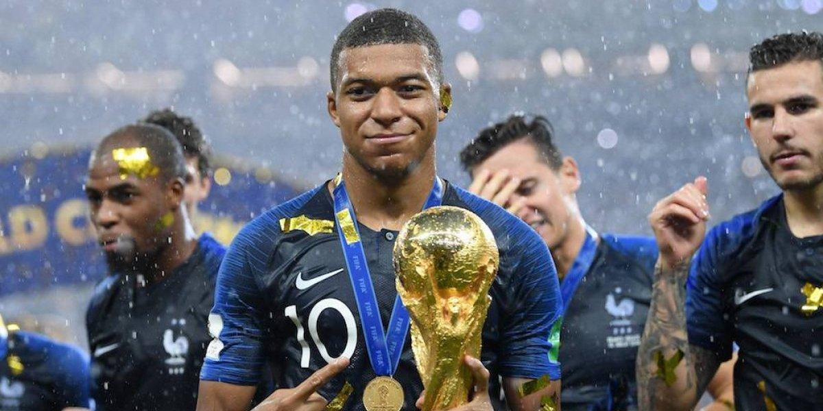 Mbappé ayudará a niños hospitalizados con su premio del Mundial