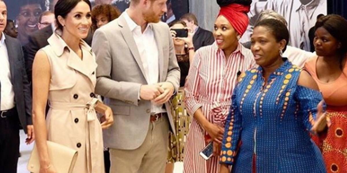 Meghan y Harry recordaron a la princesa Diana durante su tributo a Nelson Mandela