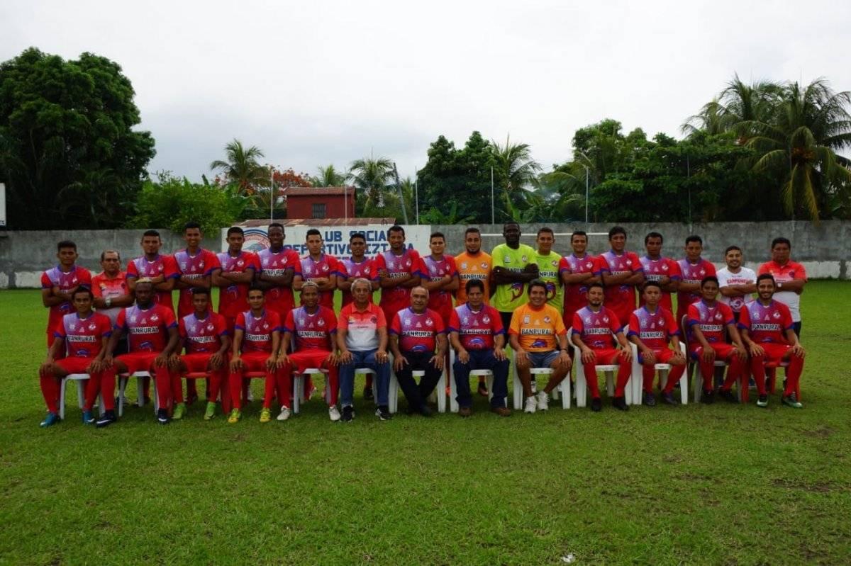El equipo del Deportivo Iztapa