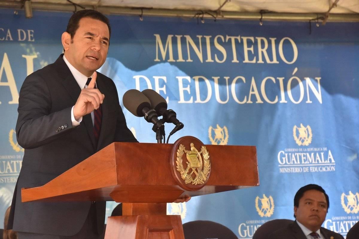 El presidente Morales pidió la aprobación del tercer presupuesto de su gobierno. Foto: Gobierno