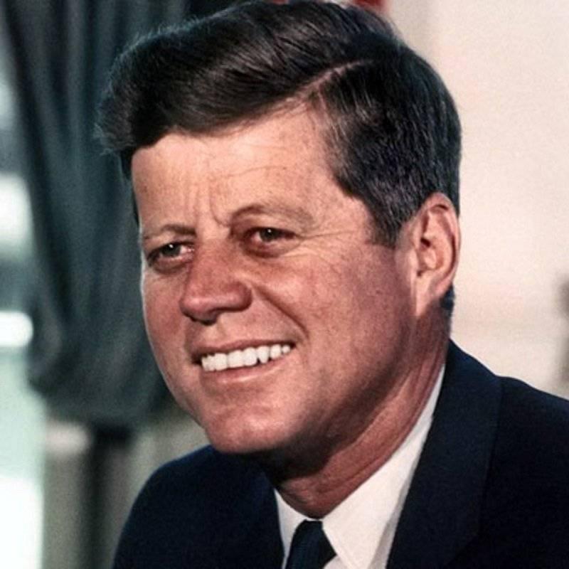 La primera vez de John F. Kennedy