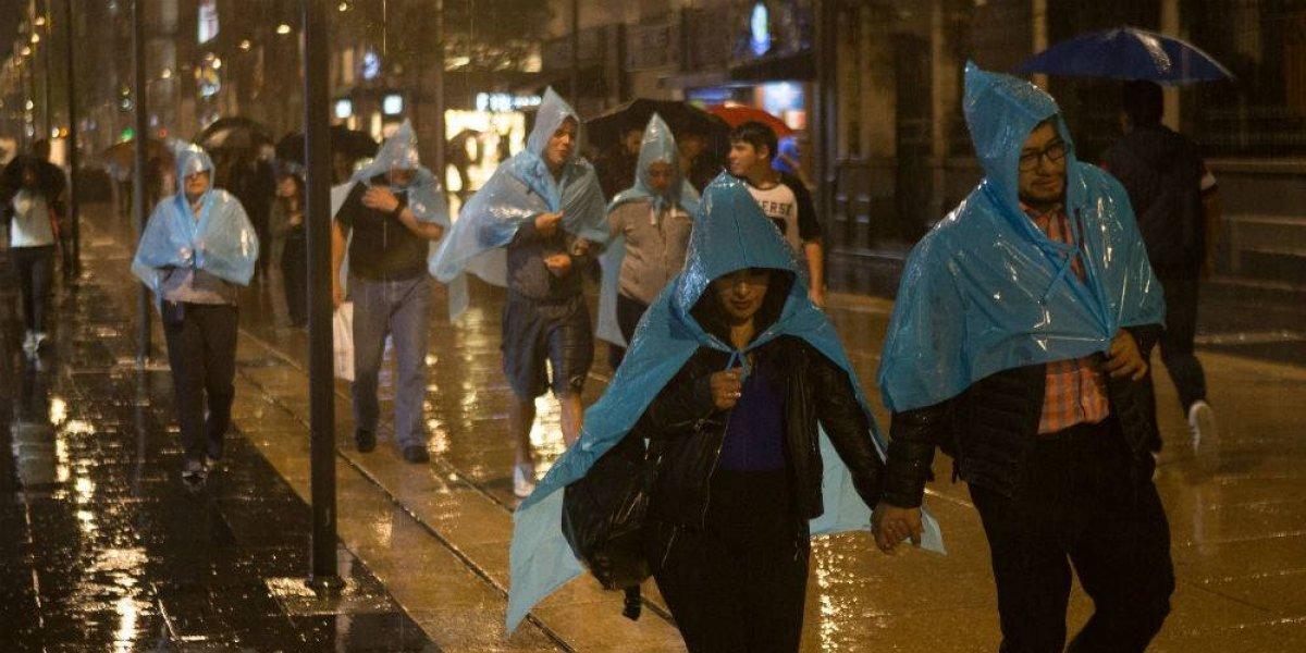 Vientos y lluvias fuertes se registrarán en el país