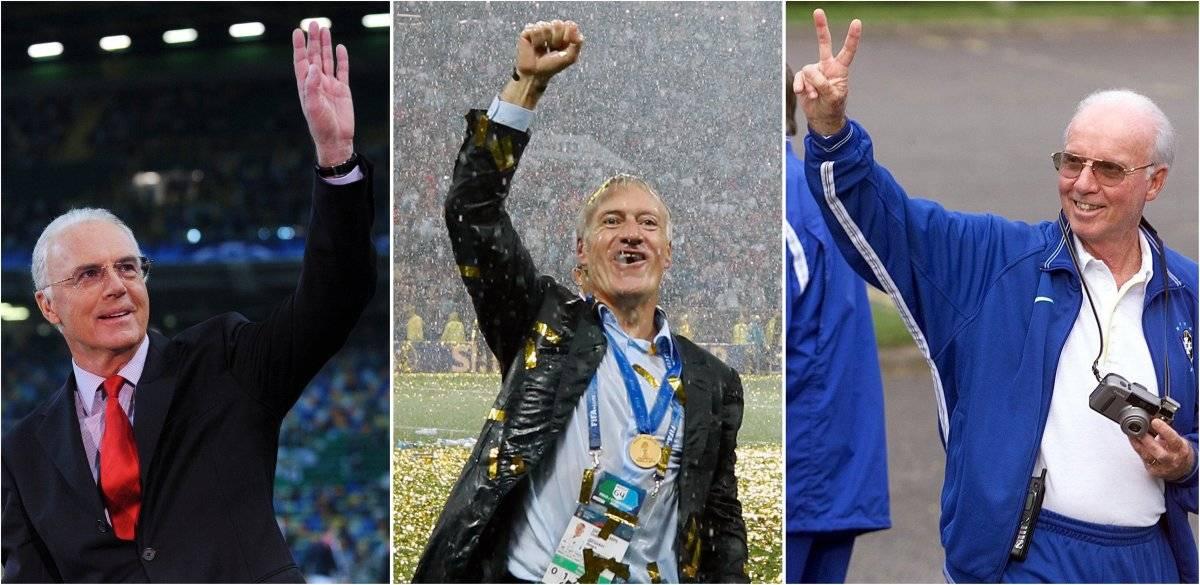 Los tres personajes que ganaron un Mundial como jugador y técnico
