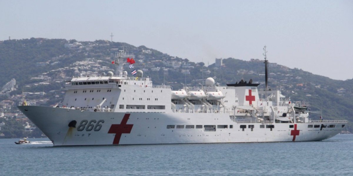 Buque hospital chino visitará RD para atender a 5 mil personas