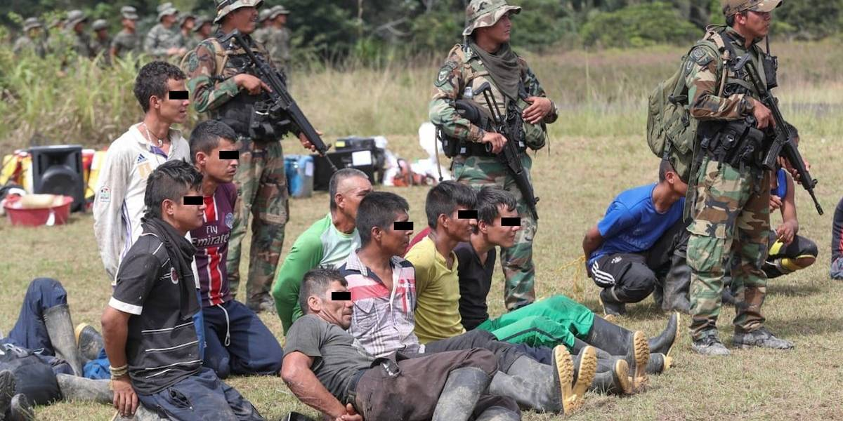 Detienen a 51 personas dedicadas al narcotráfico en frontera entre Perú, Colombia y Ecuador
