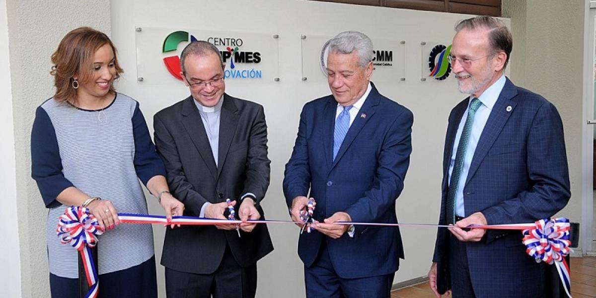 #TeVimosEn: Apertura Centro Mipymes PUCMM CSTA