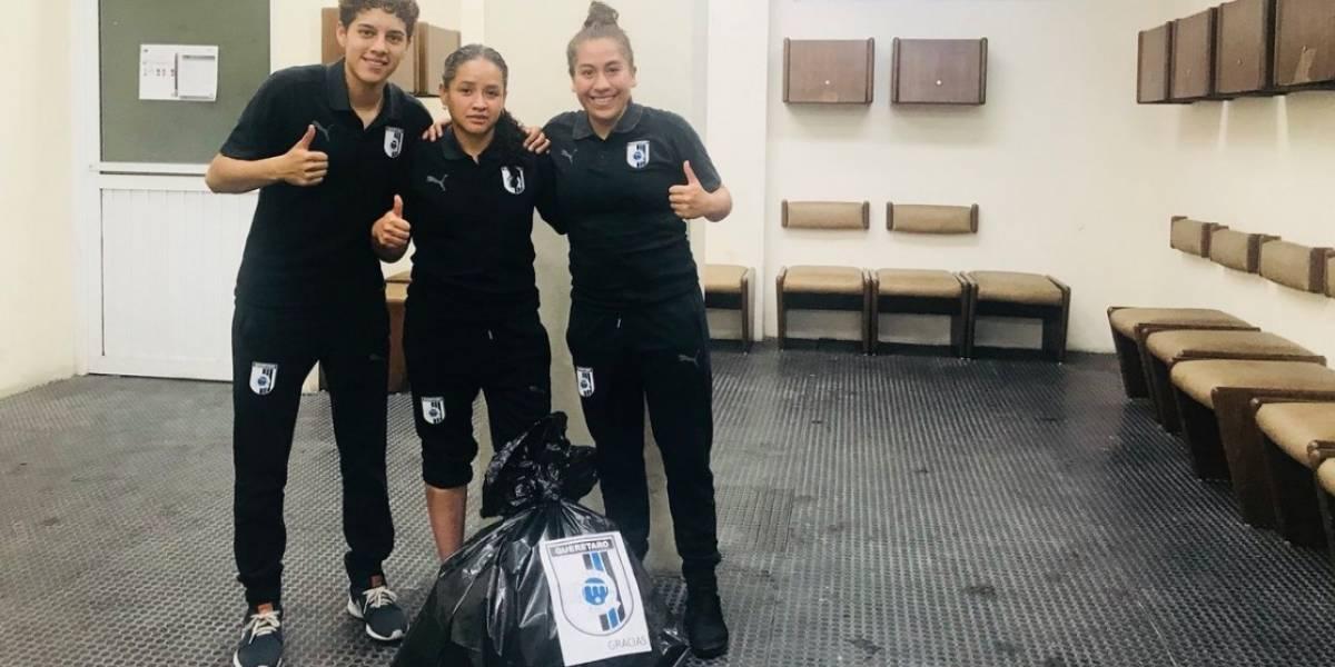 Querétaro Femenil limpia vestidor tras derrota ante Tigres